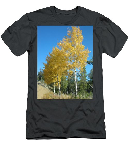Early Autumn Aspens Men's T-Shirt (Athletic Fit)