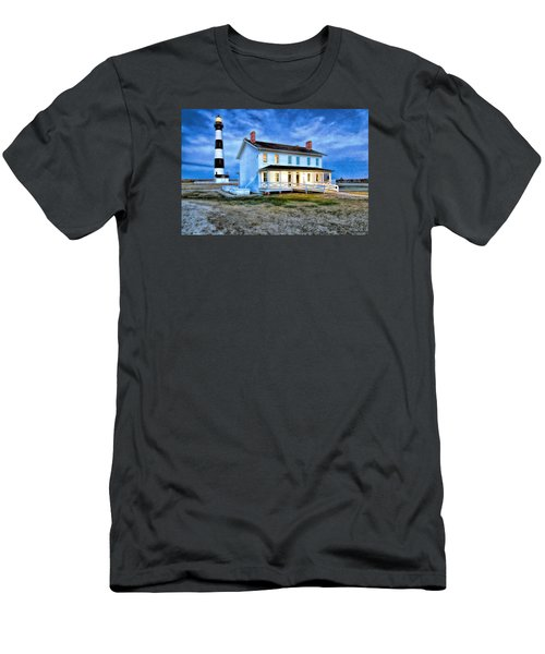 Early Evening Lighthouse Men's T-Shirt (Athletic Fit)