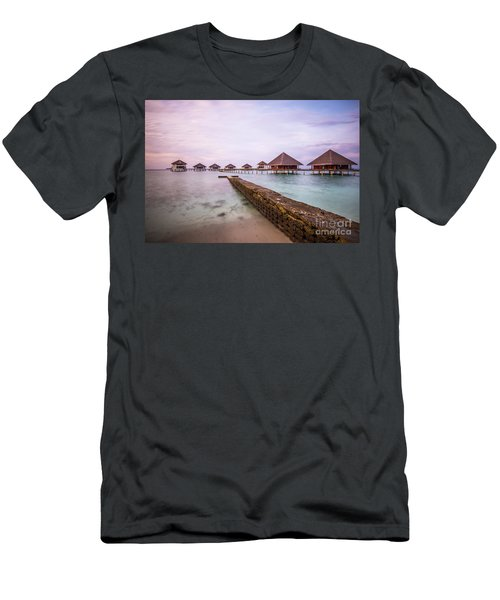 Men's T-Shirt (Slim Fit) featuring the photograph Early In The Morning by Hannes Cmarits