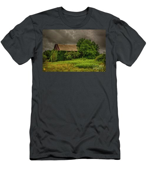 Early Monring Rain Men's T-Shirt (Slim Fit) by JRP Photography
