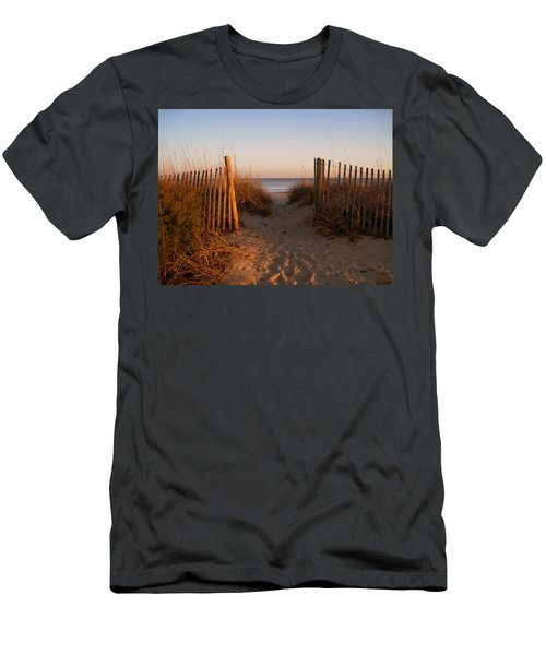 Early Morning At Myrtle Beach Sc Men's T-Shirt (Athletic Fit)