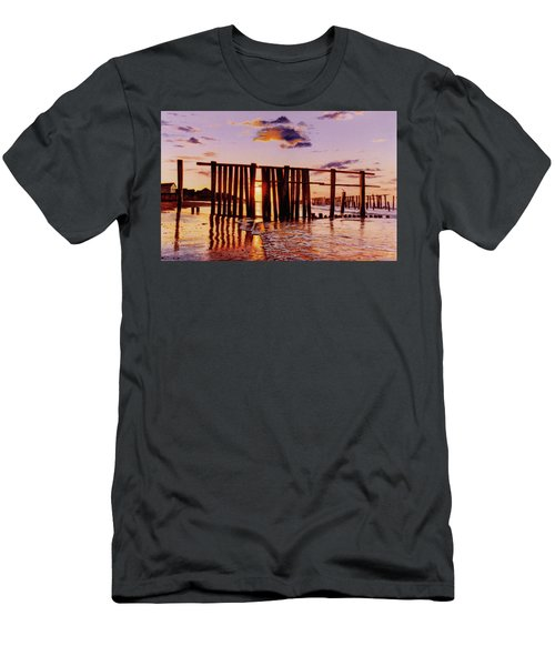 Early Morning Contrasts Men's T-Shirt (Athletic Fit)