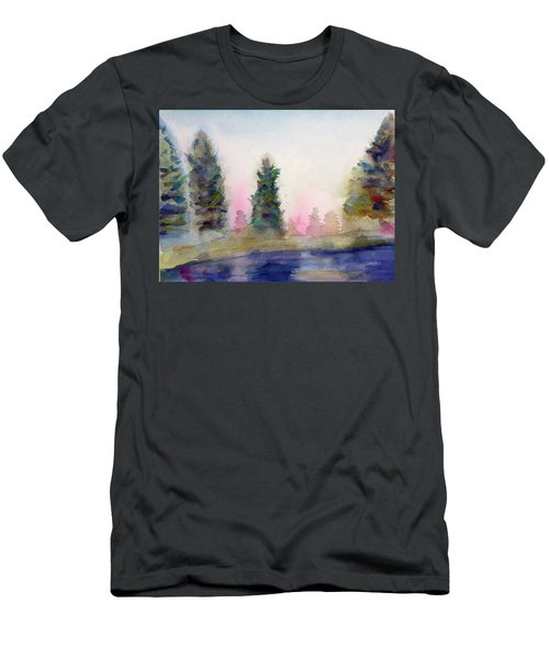 Early Morning Forest Men's T-Shirt (Athletic Fit)