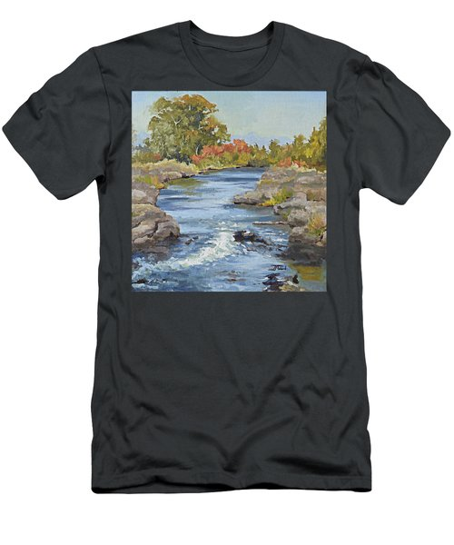 Early Morning In Idaho Men's T-Shirt (Athletic Fit)