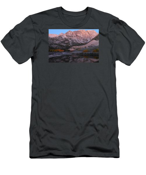 Early Morning Light At North Lake In The Eastern Sierras During Autumn Men's T-Shirt (Slim Fit) by Jetson Nguyen