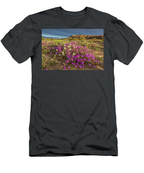 Men's T-Shirt (Slim Fit) featuring the photograph Early Morning Light Super Bloom by Peter Tellone