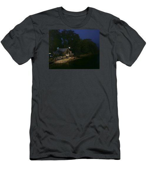 Early Morning On The River Men's T-Shirt (Athletic Fit)