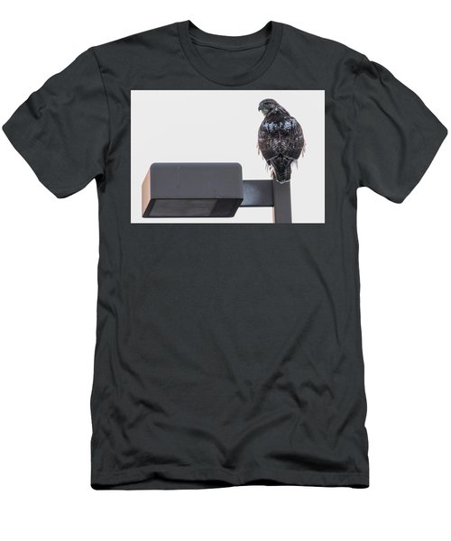 Men's T-Shirt (Athletic Fit) featuring the photograph Early Morning Sentinel   by Ricky L Jones