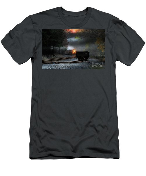 Early Morning Steel Men's T-Shirt (Athletic Fit)
