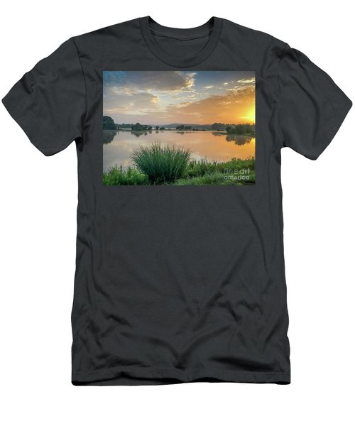 Early Morning Sunrise On The Lake Men's T-Shirt (Athletic Fit)