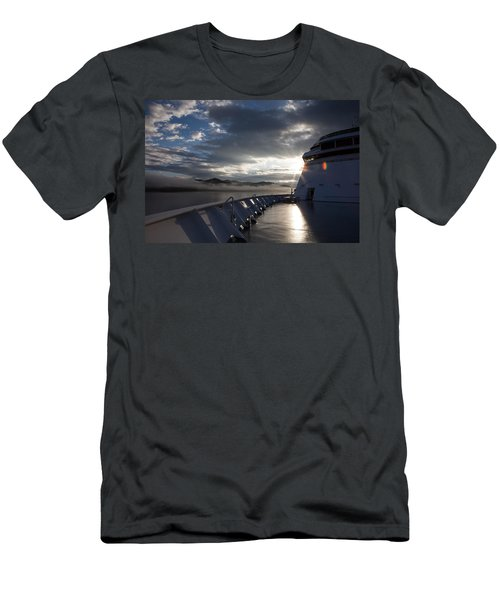 Early Morning Travel To Alaska Men's T-Shirt (Athletic Fit)