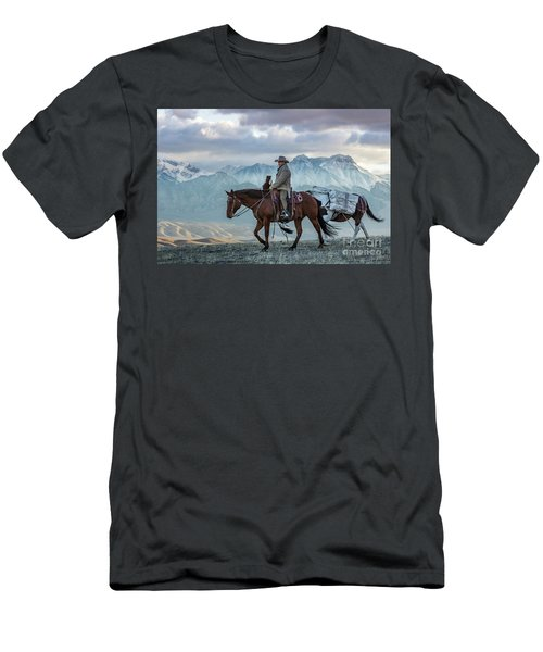Early October Hunt Wild West Photography Art By Kaylyn Franks Men's T-Shirt (Athletic Fit)