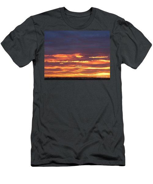 Early Prairie Sunrise Men's T-Shirt (Athletic Fit)