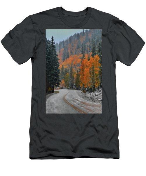 Early Snow Men's T-Shirt (Slim Fit) by Dana Sohr