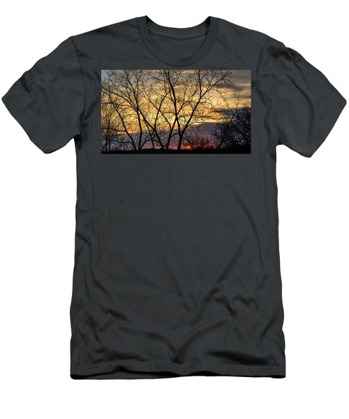 Early Spring Sunrise Men's T-Shirt (Athletic Fit)