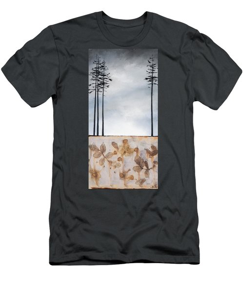 Earth And Sky Men's T-Shirt (Slim Fit) by Carolyn Doe