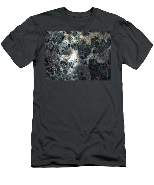 Men's T-Shirt (Slim Fit) featuring the photograph Earth Memories - Stone # 8 by Ed Hall
