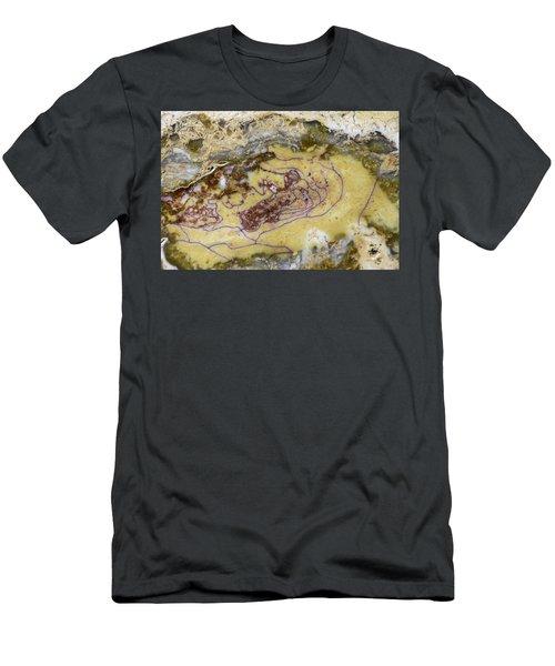 Earth Portrait 007 Men's T-Shirt (Athletic Fit)