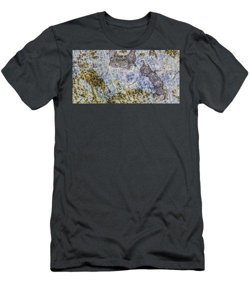 Earth Portrait L4 Men's T-Shirt (Athletic Fit)