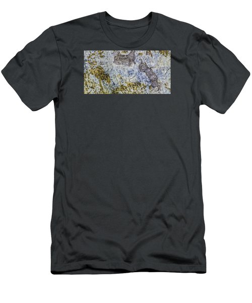 Earth Portrait L4 Men's T-Shirt (Athletic Fit)