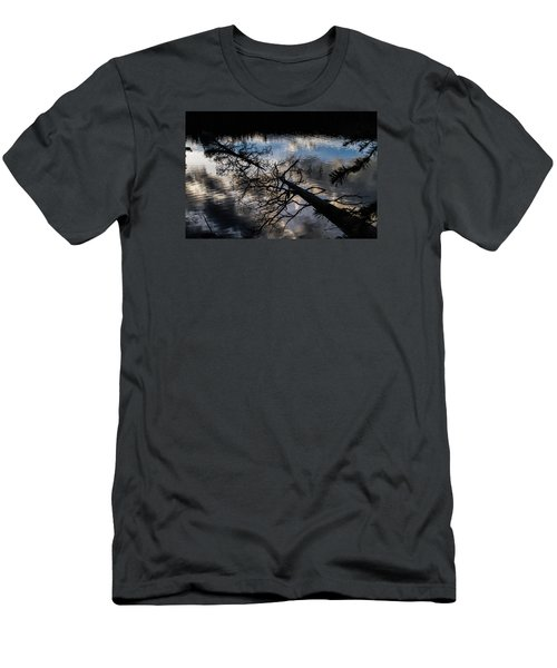 Earth To Water Men's T-Shirt (Slim Fit) by Alana Thrower