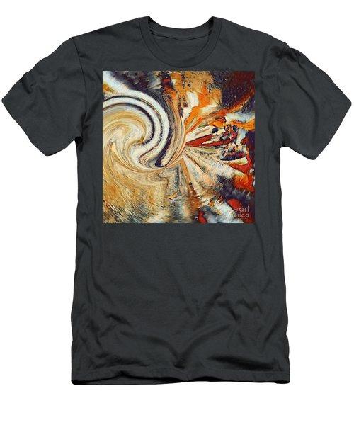Earth Tones Men's T-Shirt (Athletic Fit)