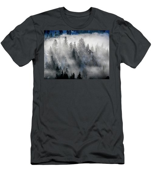 East Shore Inversion, Lake Tahoe Men's T-Shirt (Athletic Fit)