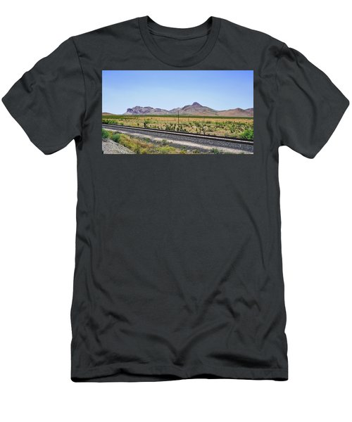 East To West Men's T-Shirt (Athletic Fit)