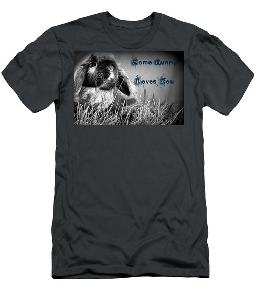Easter Card Men's T-Shirt (Athletic Fit)