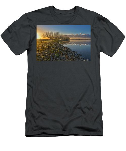 Easter Sunrise Men's T-Shirt (Athletic Fit)