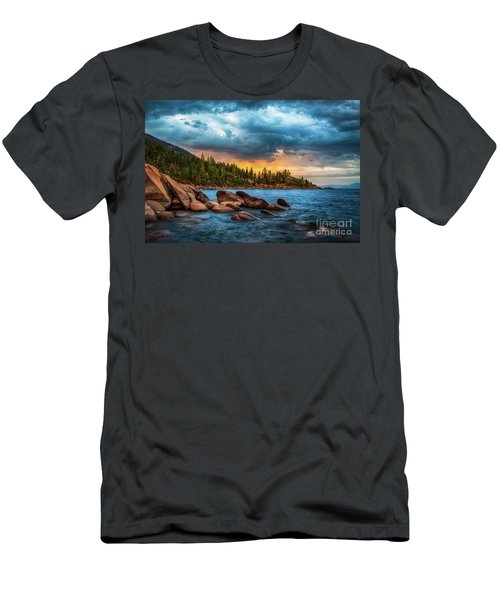 Eastern Glow At Sunset Men's T-Shirt (Athletic Fit)
