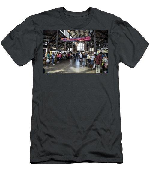 Eastern Market Detroit Saturday  Men's T-Shirt (Athletic Fit)