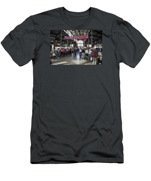 Eastern Market Detroit Saturday  Men's T-Shirt (Athletic Fit)