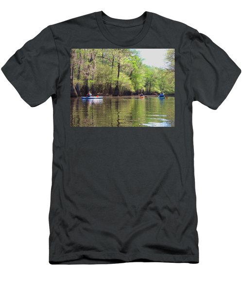 Ebenezer Creek Men's T-Shirt (Athletic Fit)