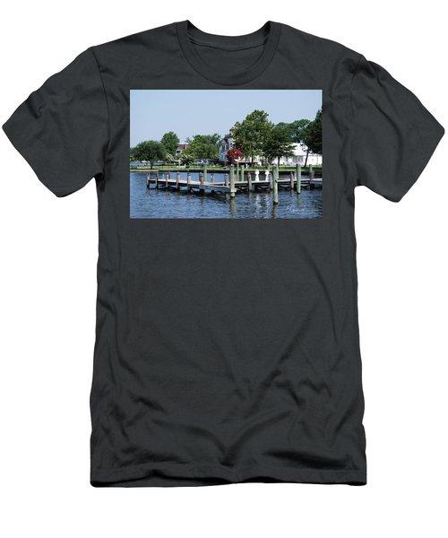 Edenton Waterfront Men's T-Shirt (Athletic Fit)