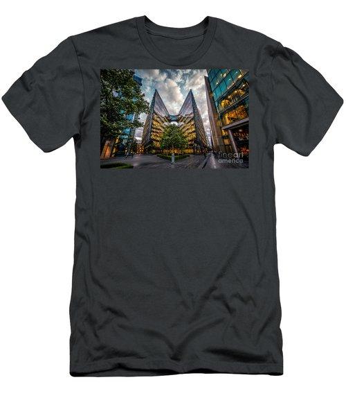Edges Men's T-Shirt (Slim Fit) by Giuseppe Torre