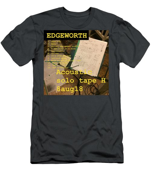 Edgeworth Acoustic Solo Tape H Men's T-Shirt (Athletic Fit)