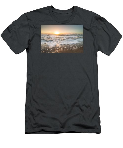 Edisto Island Sunrise Men's T-Shirt (Slim Fit) by Serge Skiba