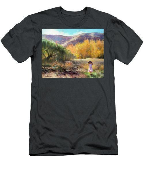 Men's T-Shirt (Athletic Fit) featuring the photograph Effervescence by Steve Henderson