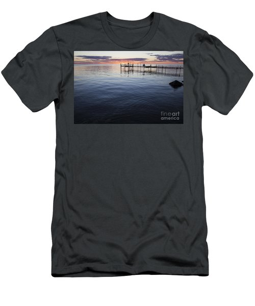 Egg Harbor Sunset Men's T-Shirt (Athletic Fit)