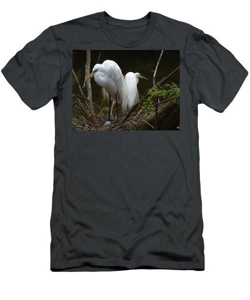 Egrets Men's T-Shirt (Athletic Fit)
