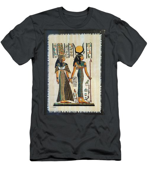 Egyptian Papyrus Men's T-Shirt (Athletic Fit)