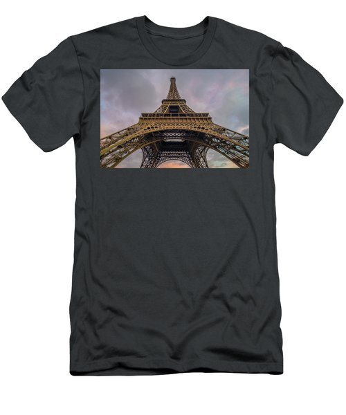 Eiffel Tower 5 Men's T-Shirt (Athletic Fit)