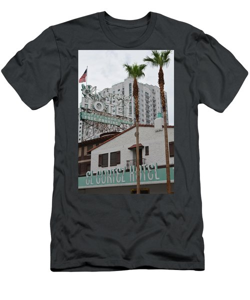 El Cortez Hotel Las Vegas Men's T-Shirt (Athletic Fit)