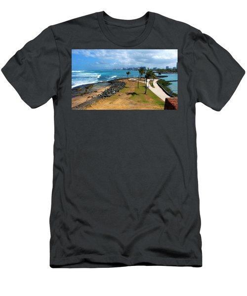 Men's T-Shirt (Slim Fit) featuring the photograph El Escambron by Ricardo J Ruiz de Porras