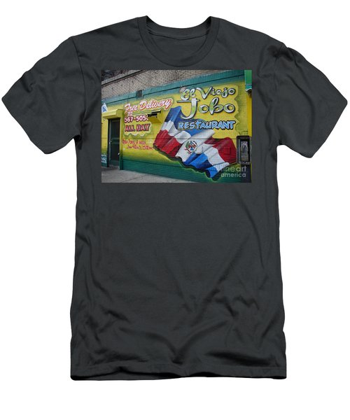 Men's T-Shirt (Slim Fit) featuring the photograph El Viejo Jobo  by Cole Thompson