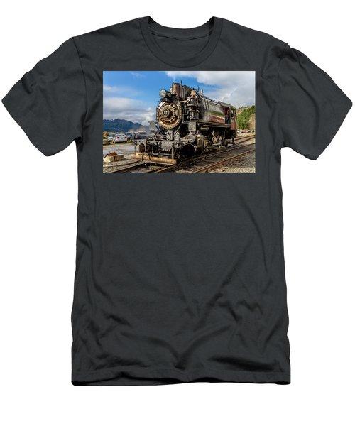 Elbe Steam Engine 17 - 2 Men's T-Shirt (Athletic Fit)