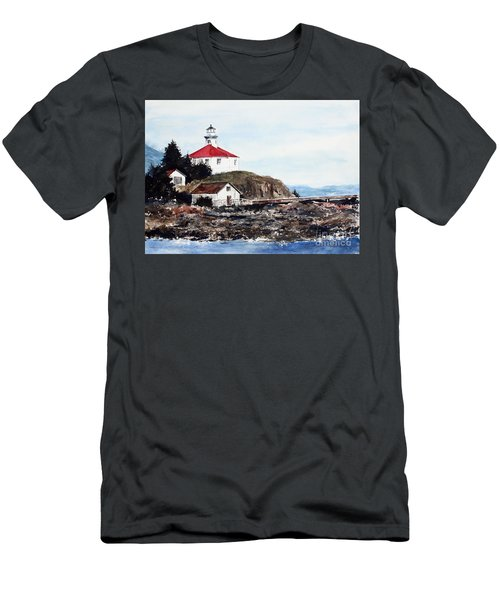 Eldred Rock Lighthouse Men's T-Shirt (Athletic Fit)