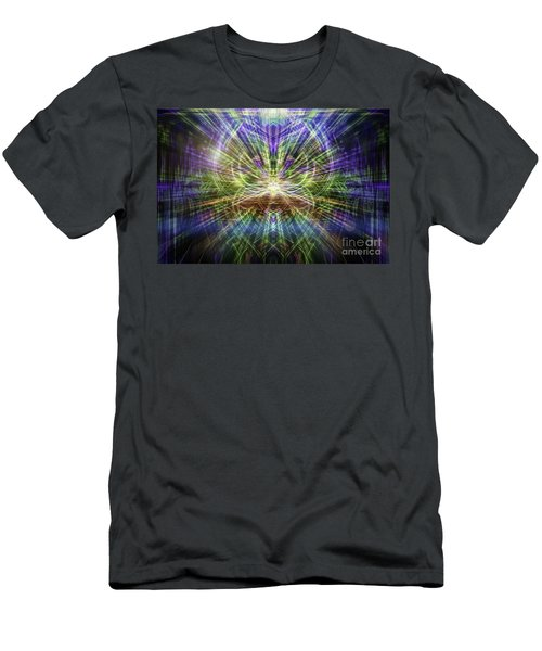 Electric Owl  Men's T-Shirt (Athletic Fit)