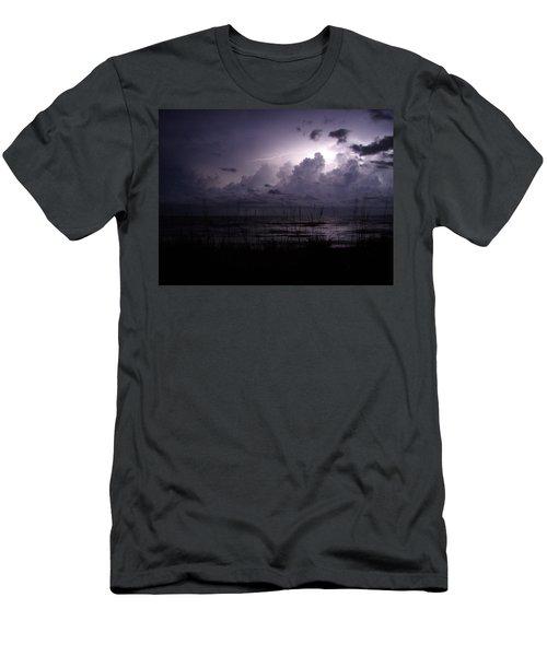 Electric Storm Men's T-Shirt (Athletic Fit)